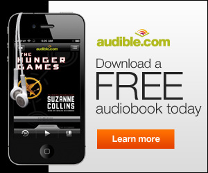 Get a free audiobook download at audibletrial.com/mightymovie