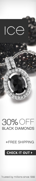Ice Black Diamond Event &#150; Enjoy 30% off Glamorous Black Diamond Jewelry + Free Shipping!