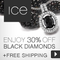 Ice Black Diamond Event - Enjoy 30% off Glamorous Black Diamond Jewelry + Free Shipping!