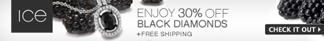 Ice Black Diamond Event – Enjoy 30% off Glamorous Black Diamond Jewelry + Free Shipping!