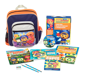 Umizoomi Preschool Math Kit + Backpack