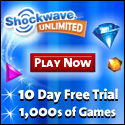 10 Days to try 1,000s of Games for FREE!
